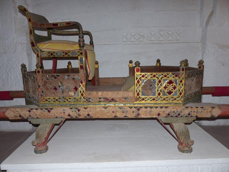 Palanquin in Mehrangarh Fort - Jodhpur