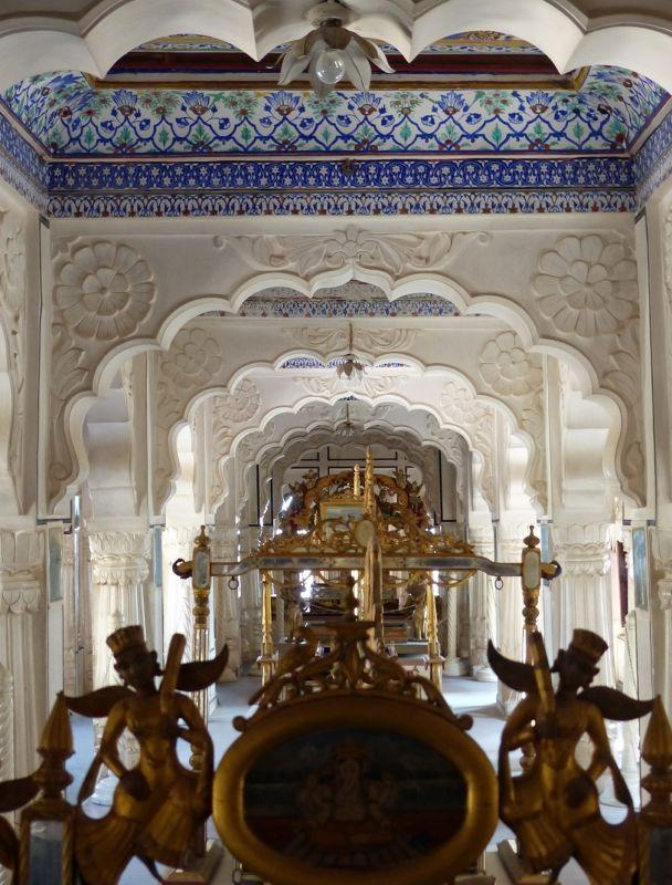 The Palanquin gallery, Mehrangarh Fort - Jodhpur