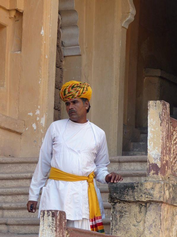 Museum guard, Mehrangarh Fort - Jodhpur