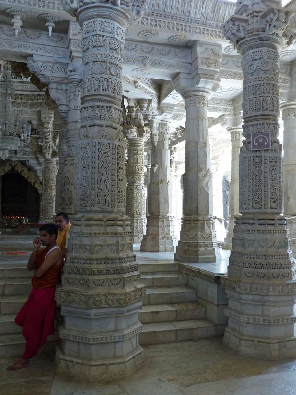 Inside the temple, Ranakpur