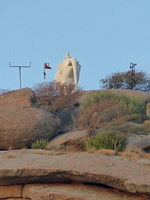 Elephant on Narlai Hill