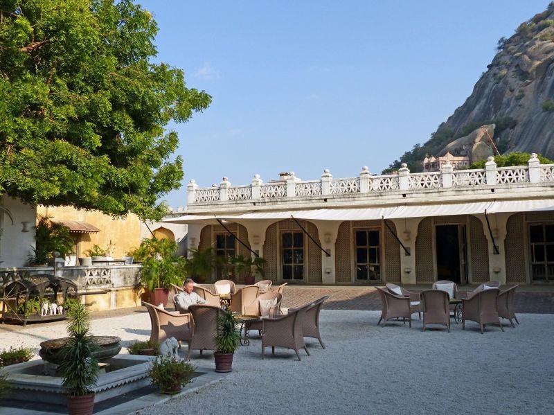 Courtyard, bar beyond - Rawla Narlai