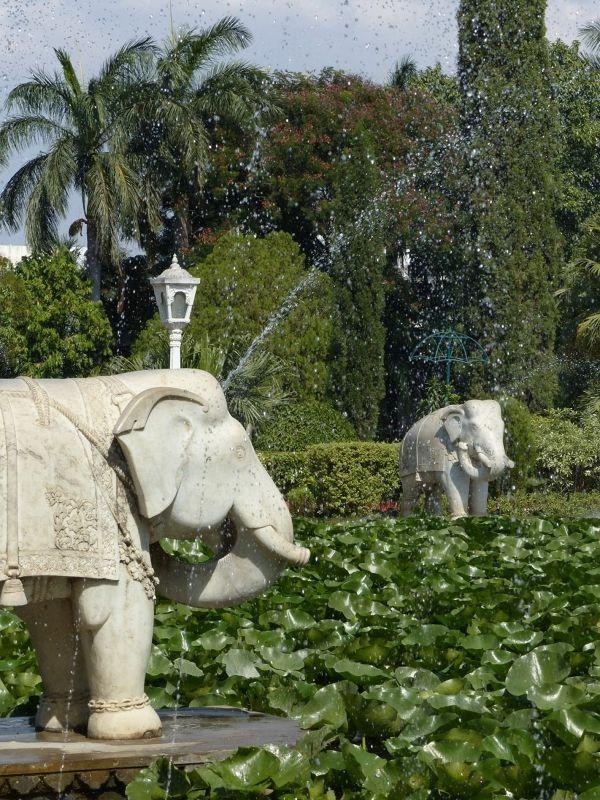 Elephant fountain, Sahelion Ki Bari - Udaipur