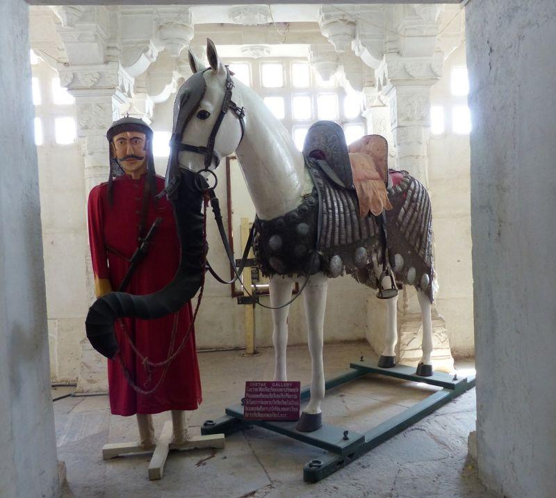 Pratap & Chetak, City Palace - Udaipur