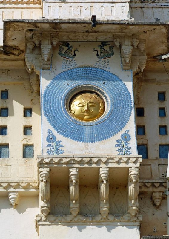Sun, City Palace - Udaipur