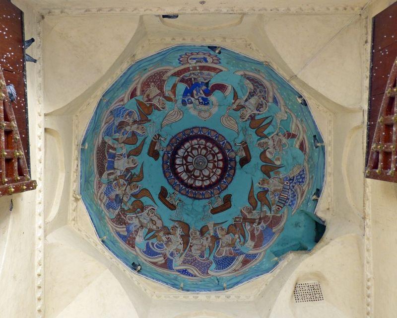 Toran Pol ceiling, City Palace - Udaipur