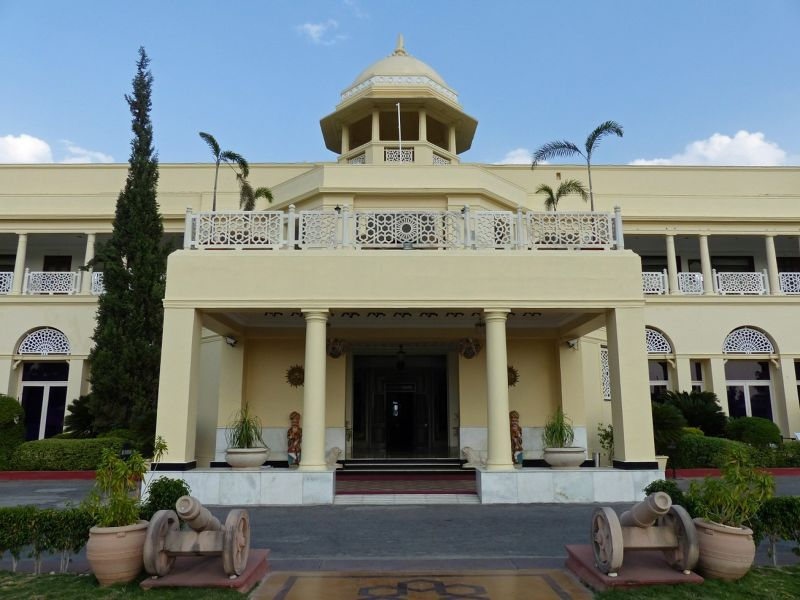 Hotel entrance - Udaipur