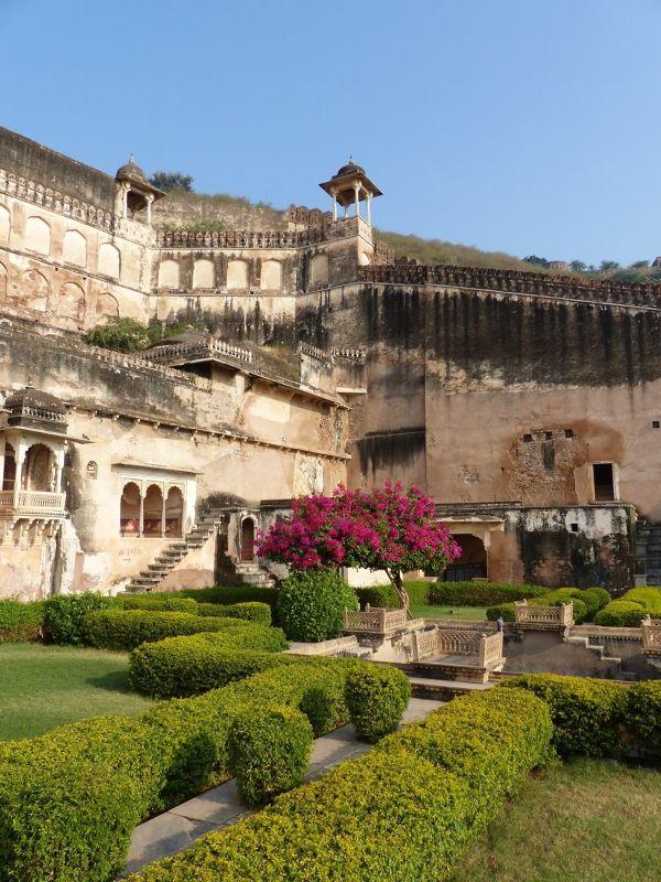 Bundi Palace: hanging garden - Bundi