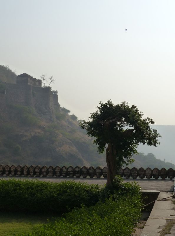 View from the hanging garden - Bundi Palace