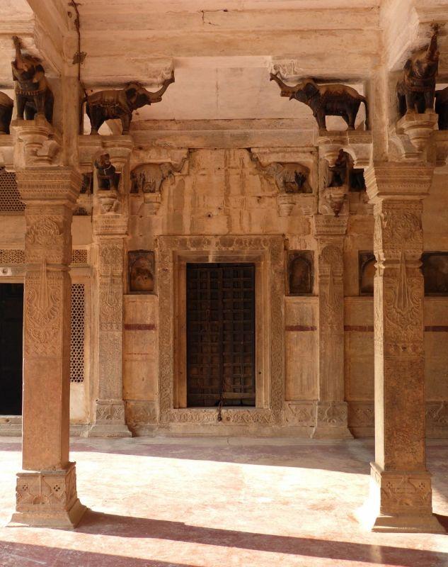 Hall of Private Audience - Bundi Palace