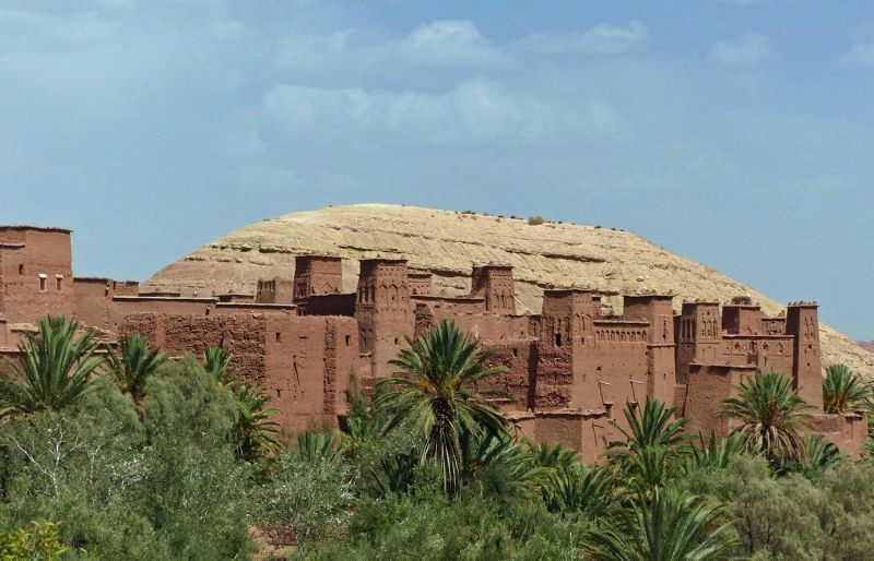 From the roadside - Ait Ben Haddou