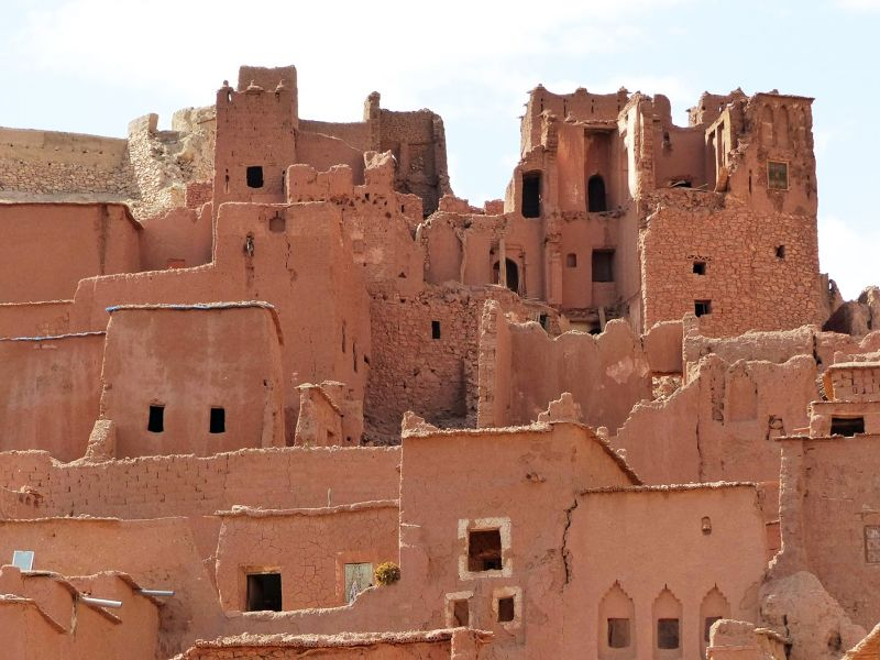 Village houses - Ait Ben Haddou