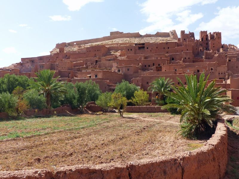 From the river bank - Ait Ben Haddou