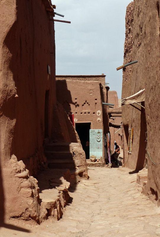 Inside the village - Ait Ben Haddou