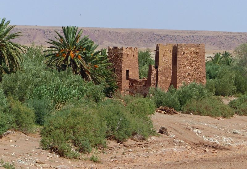 """New"" gates - Ait Ben Haddou"