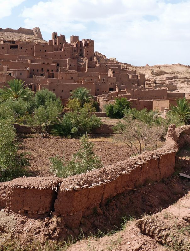 Near the arena - Ait Ben Haddou