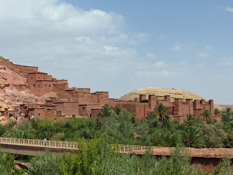 The bridge - Ait Ben Haddou