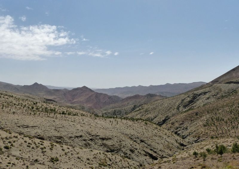 Top of the pass - Ait Ben Haddou