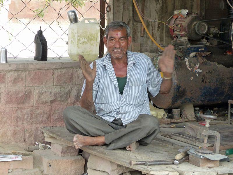 Metalworker in Khimsar