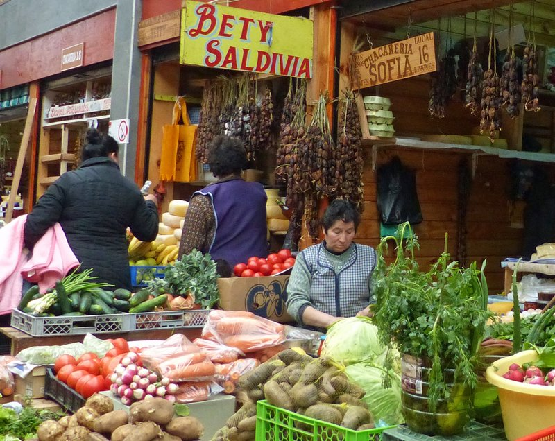 Market stall, Ancud