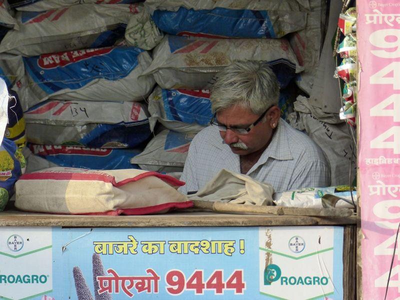 Local shop, Khimsar