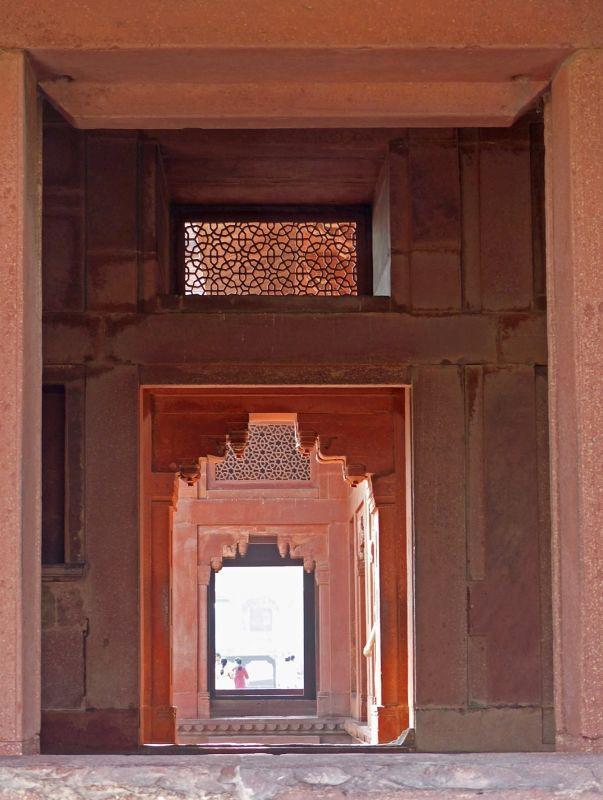 The treasury and astrologer's kiosk - Fatehpur Sikri