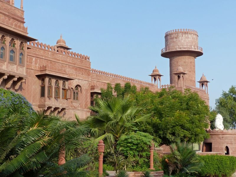 Khimsar Fort hotel - Khimsar