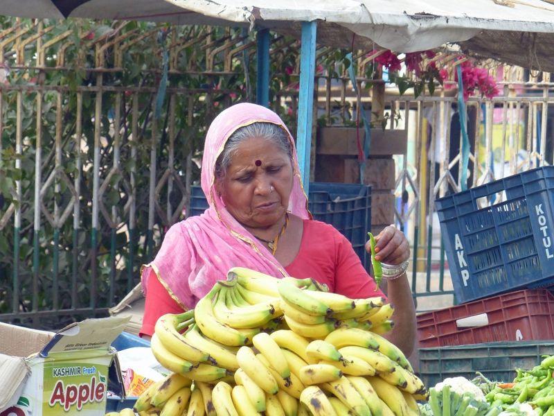 Market stall, Khimsar