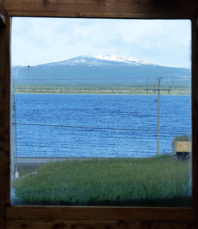Puerto Natales - view from the Hotel Altiplanico Sur, Puerto Natales