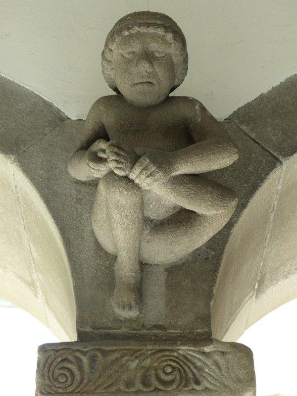 In the cloisters, Grossmünster, Zurich