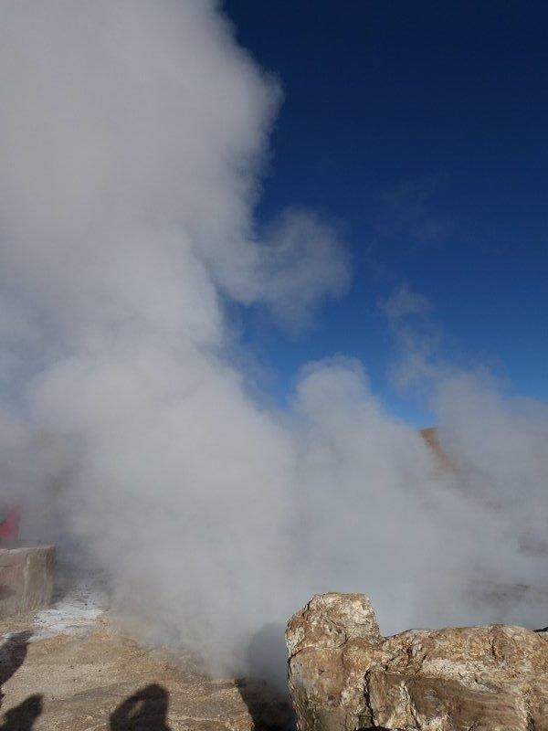 El Tatio geyser field, Atacama Desert