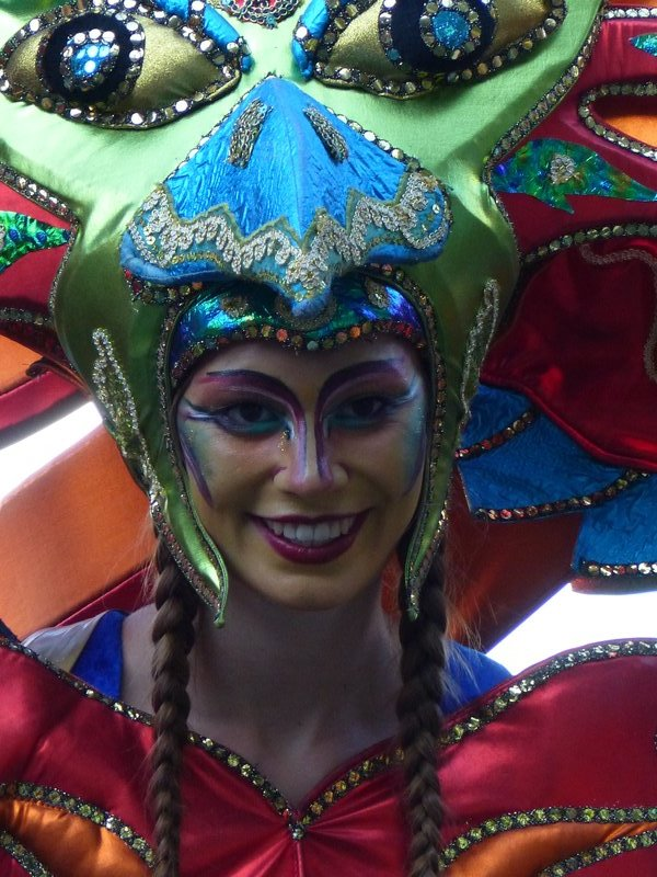 Carnival performer, London