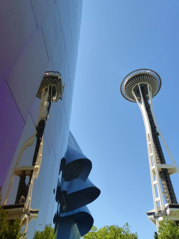 MoPop and Space Needle