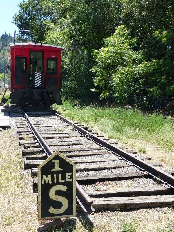Pioneer Village, Cashmere WA - the railroad