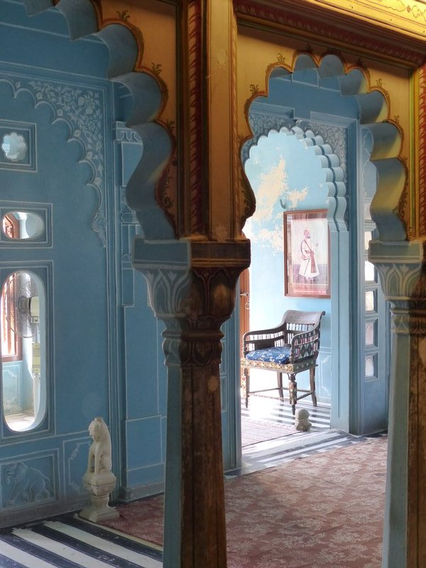 In the City Palace, Udaipur