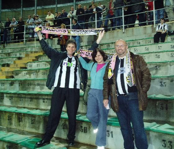 Only 170 Toon fans made the journey! - Palermo