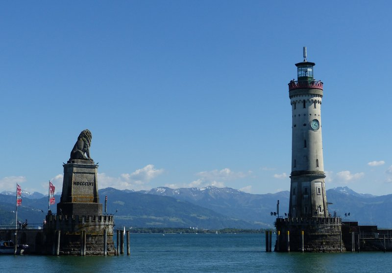 Harbour entrance, Lindau