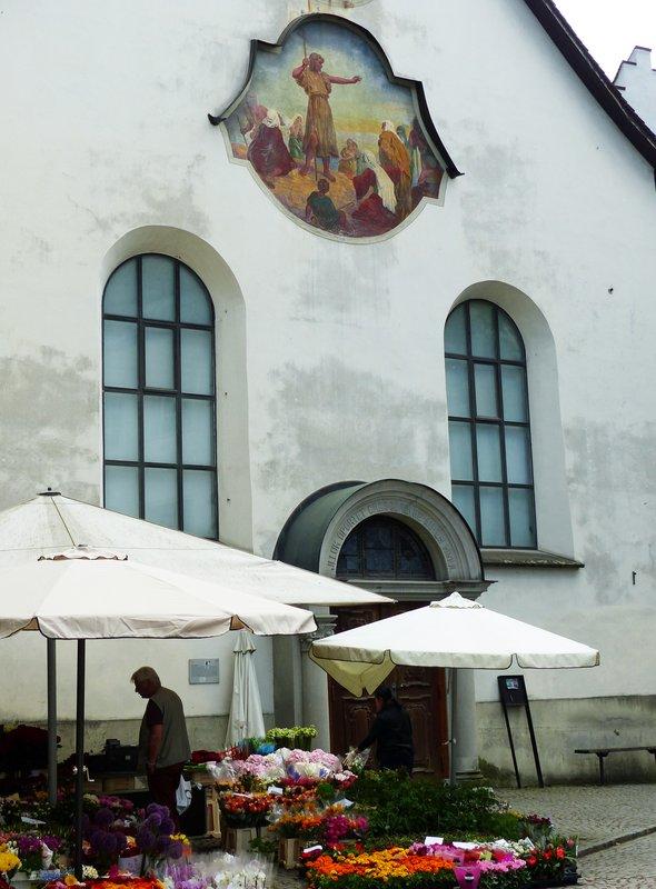 Sankt Johann and market, Felkirch