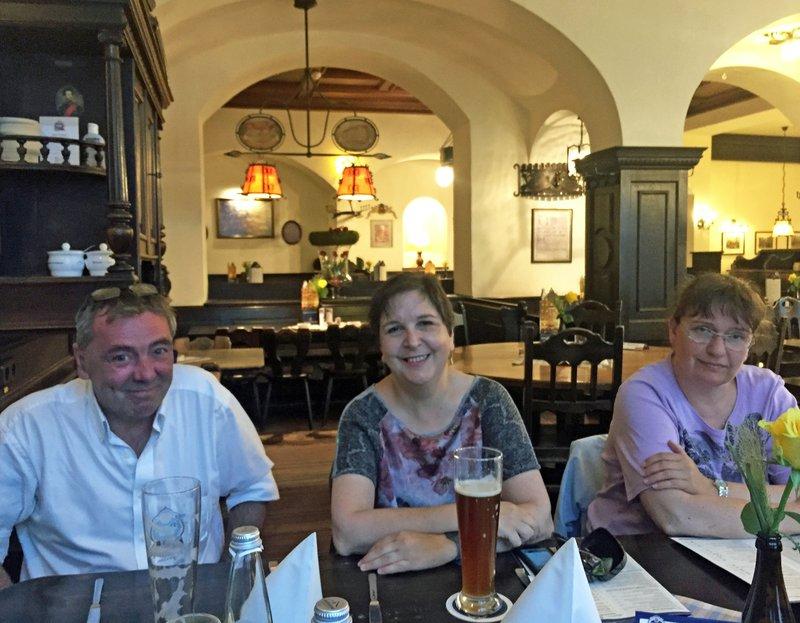 John, Isa and Katherin