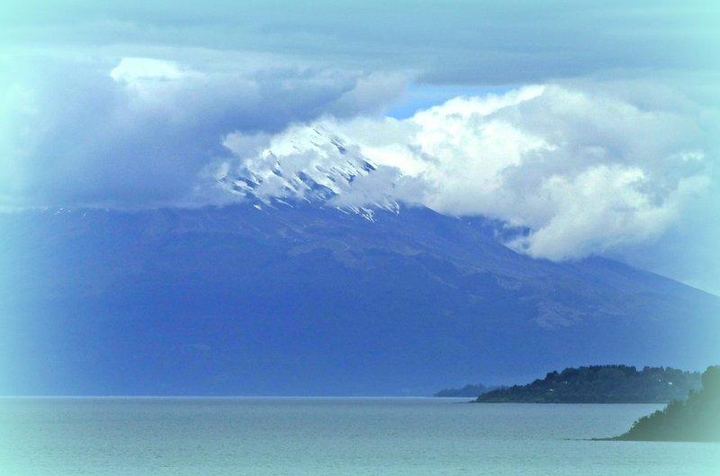 View of Osorno, Puerto Varas