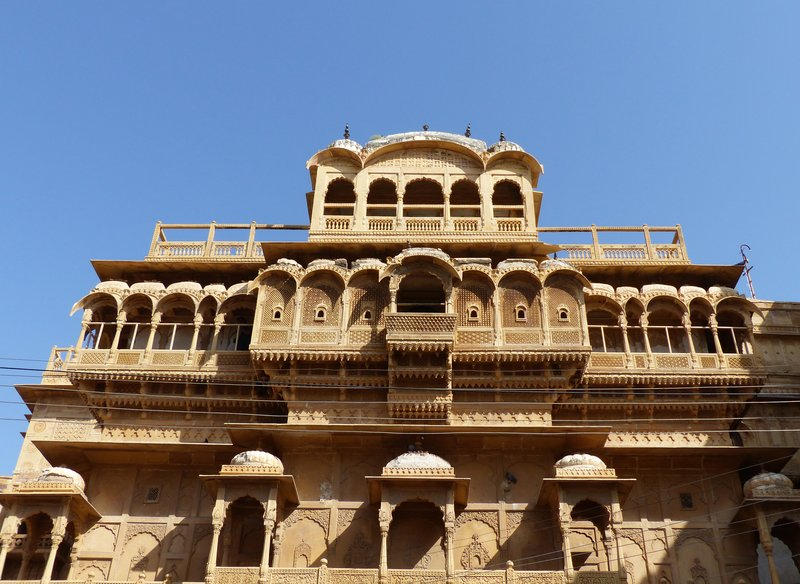 In Jaisalmer Fort