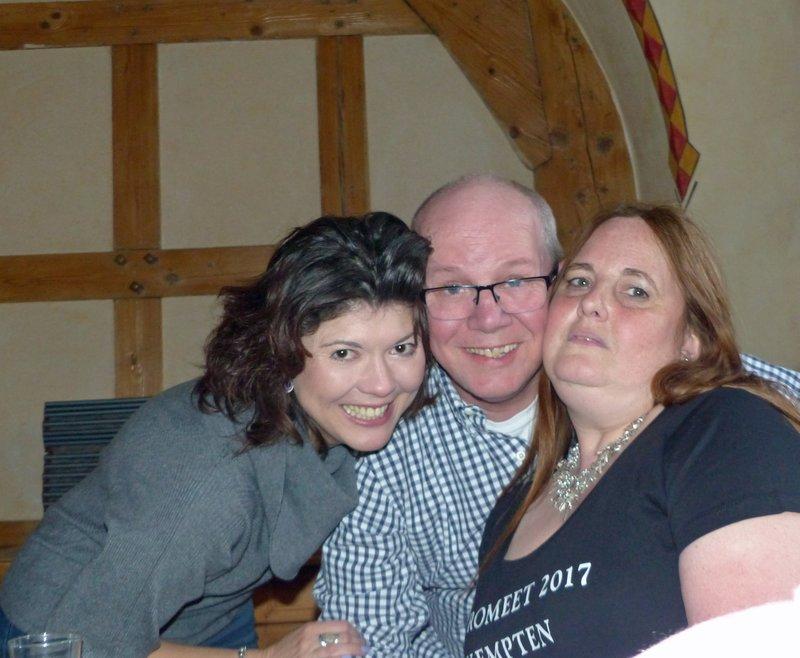 VT dinner at the Brauereigasthaus Zum Stift