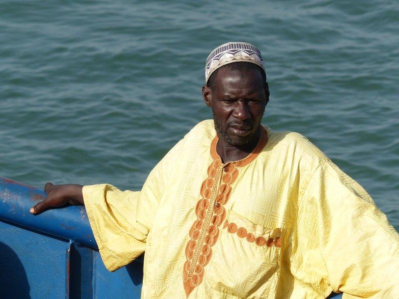 Ferry passenger