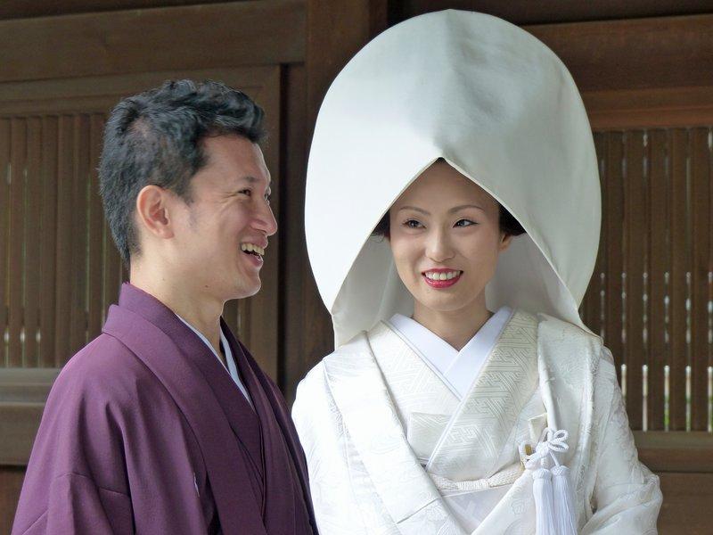 Wedding at the Meiji Shrine, Tokyo