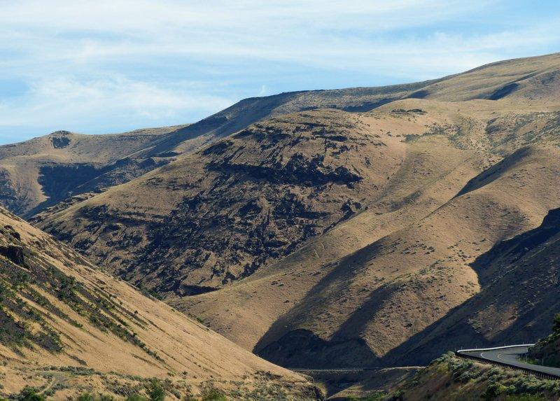 In the Yakima Canyon