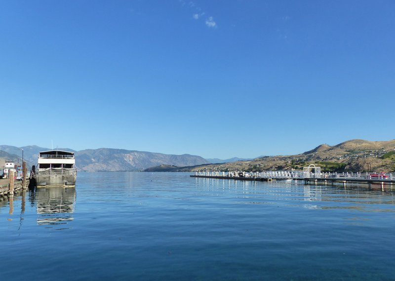Boat landing at Lake Chelan, WA