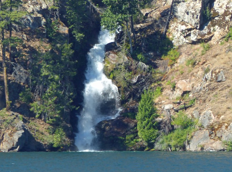 Waterfall at Lake Chelan, WA