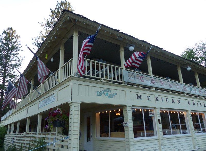 Mexican restaurant, Winthrop WA
