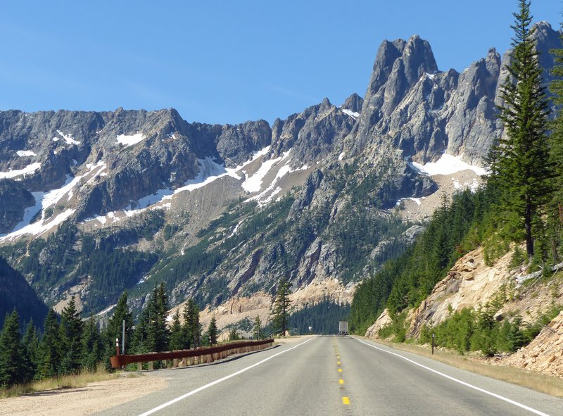 The road to Washington Pass, Hwy 20
