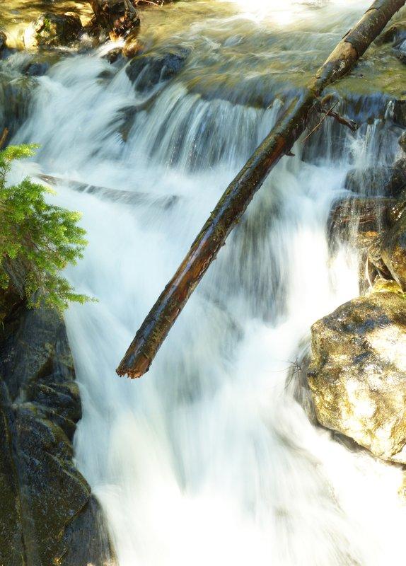 Waterfall near Rainy Lake, N Cascades NP